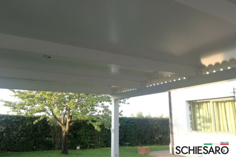 tettoie residenziali per automobili