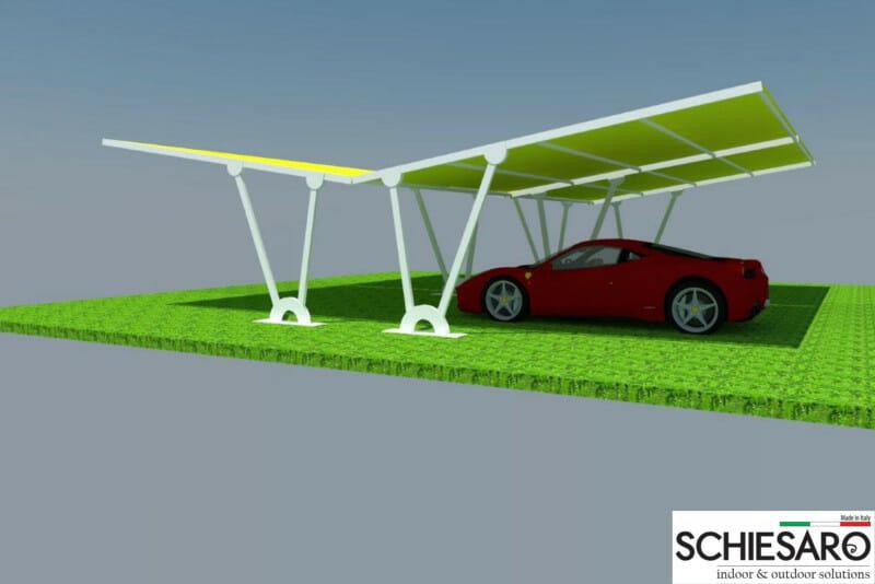 carport tettoie ombreggianti